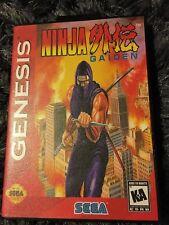Ninja Gaiden SEGA Mega Drive USA Version - Custom Game - Grade AAA+++