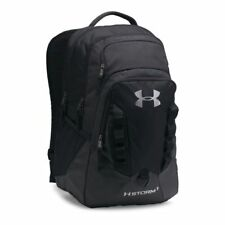 Under Armour Storm Recruit Backpack Black/Black One Size water Resistant 6053 []
