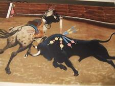 """""""Bull Ring""""by Boyle limited edition # and Hand-signed lithograph"""