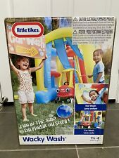 Brand New Little Tikes Inflatable Wacky Wash Car Wash Sprinkles Bubbles