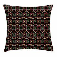 African Throw Pillow Cases Cushion Covers Ambesonne Accent Decor 8 Sizes