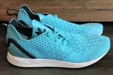 ADIDAS ORIGINAL ZX FLUX ADV Primeknit BLUE Mens Running Shoes Size 12.5 S79064