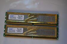 Lot of 2x 1GB OCZ DDR2-800 Gold Edition XTC PC2-6400U OCZ2A8002GK #12
