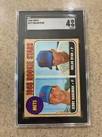 1968 Topps Nolan Ryan SGC 4 VG EX NY Mets Rookie RC HOF card nicely centered