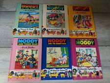 Bundle Of Vintage Noddy Books By Enid Blyton