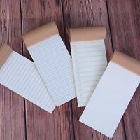 Kraft Paper Todo Notebook Blank Notepad Book Vintage Journal Notebook Plan Tg