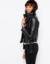 Zip Leather ASOS for Women