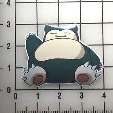 """Pokemon Snorlax 3"""" Wide VInyl Decal Sticker - BOGO"""
