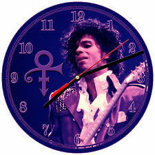 "8"" WALL CLOCK - PRINCE ROGERS NELSON #3 - Kitchen Office Bathroom Bar Bedroom"