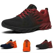 Men's Chic Flats Sneakers Shoes Lace up Sport Outdoor Running Non-slip Casual