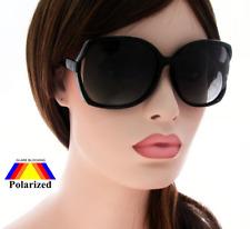 NWT Women Oversized Sunglasses Polarized Beatrice Fashion Large Vented Frame