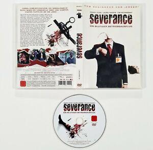 DVD Horror SEVERANCE Ein Blutiger Betriebsausflug dt. uncut Splatter/Gore/Comedy