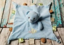 Baby Gund Blue Bear Welcome Little One Blanket  Security Lovey