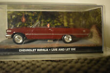 JAMES BOND CARS COLLECTION 054 CHEVROLET IMPALA LIVE AND LET DIE