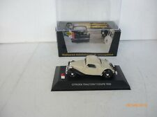 Nostalgie 1/43 - Citroen Traction 7 Coupe 1935 Beige UNUSED IN BOX
