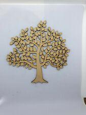 MDF Family Tree Laser Cut Wooden Craft Blank Wedding Tree 16