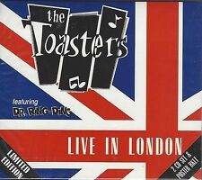 THE TOASTERS - LIVE IN LONDON (sealed 2x cd c/w poster)ltd edition - MOON CD 042