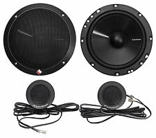 "Rockford Fosgate Prime R1675-S 6.75"" 160w 2-Way Car Component Speakers R1675S"