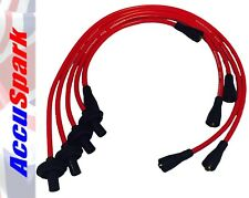 AccuSpark 8mm Red Silicon High Performance HT Lead Set for VW Camper, Bus,Van