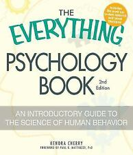 The Everything Psychology Book: Explore the human psyche and-ExLibrary