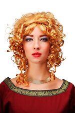 Perruque de CARNAVAL BLONDE PRINCESSE REINE moyen-âge baroque 66102-p27