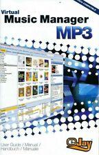 EJay Virtual Music Manager mp3 Organizer Datenbank PC (DISC & Bedienungsanleitung) NEU