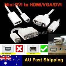 Mini DVI to HDMI/VGA/DVI Adapter Converter Cable for iMac MacBook Mac Mini