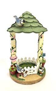 Yankee Candle Tart Burner Birds In Gazebo Spring Theme No Hanging Dish