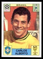 COUPE DU MONDE PANINI HISTOIRE 1990 - CARLOS ALBERTO (Brasil) N°30