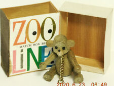 "Zoo-Line Bojesen Match Box 1959 Bear 2 7/8""Mint in Box Without Coupon Japan"