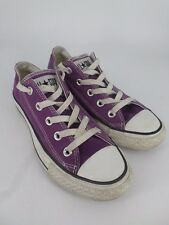 Converse Purple Low Womens trainers UK 4 EU 37 LN25 36