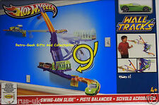 Hot Wheels Wall Tracks Swing-Arm Slide One Vehicle Included by Mattel