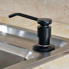 Free Shipping Black Finish Kichen Sink Liquid Soap Dispenser Plastic Bottle220ml