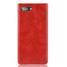 For Blackberry key2 Keyone Priv Q30 Q20 Vintage PU Leather Hard back Cover Case