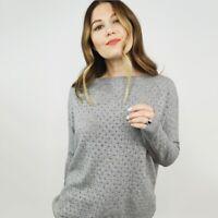 Vince Wool Cashmere Crochet Knit Sweater Women's Size Small