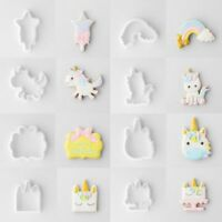 6/8pcs/set Tool Unicorn Cookie Mold Biscuit Decor Cake Cutters Embossing Mould