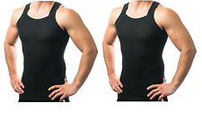 Different Touch Mens G-unit Style Tank Tops Square Cut Muscle Rib A-shirts - XX