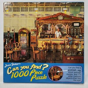 NEW Joan Steiner's Sweet Shop 1000 Piece Puzzle - Can You Find? 27x20 no. 33166