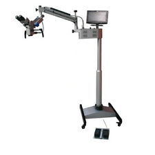 Five Step Ceiling Mount Surgical Operating Microscope Dental Age800