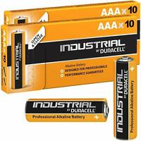 20X Duracell Industrial AAA Alkaline Batteries replaces Procell MN2400 1.5V LR03