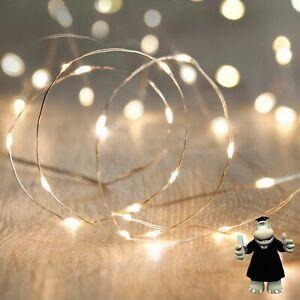 2 Metre LED Lighting for Dream Catchers Glass Bottles Vases etc Batteries Inc