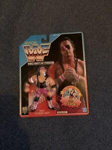 WWF Hasbro Bret Hart Purple Heart MOC