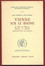 Vienne sur le Rhône, la Ville, les Habitants, Situations, Attitudes, P. Clément