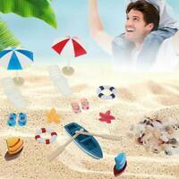 Miniatur Strand Set Puppenhaus Outdoor Garten spielen Spielzeug für Kinder Heiß