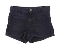 Womens H&M Black Denim Shorts Size 12/L2
