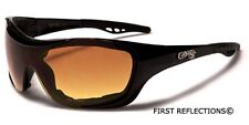 Choppers Mens Womens Padded Motorcycle Riding Sunglasses Sports Biker's Goggles