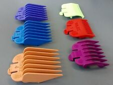 WAHL CLIPPER ATTACHMENT COLOURED COMBS - SIZE: 0.5 & 1.5 + 1-4