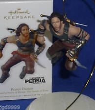 Hallmark Disney Ornament Prince of Persia The Sands of Time 2010 Prince Dastan