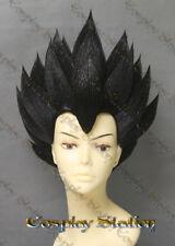 Vegeta Custom Made Cosplay Wig_commission897