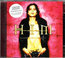 2 CD (NEU & OVP!)  . HIM - Razorblade Suitcase (+ 6 Track Live-CD Bonus mkmbh